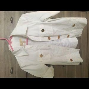 Michael Kors Short Sleeve Blazer
